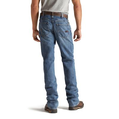 Ariat Men's Flint Fr M4 Lowrise Boot Cut Jeans