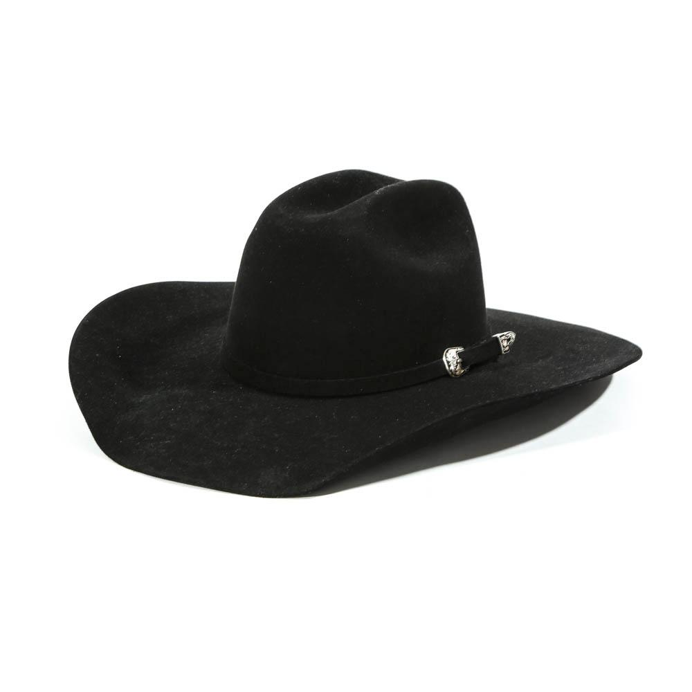 Atwood Black 7x Lc Felt Cowboy Hat