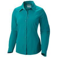 Columbia Women's Plus Sized Silver Ridge Long Sleeve Shirt