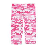 Wrangler Girls' Knit Legging in Pink Camo