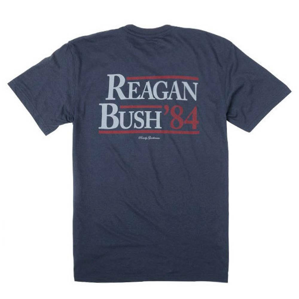 Rowdy Gentleman Short Sleeve Reagan Bush '84 T-Shirt