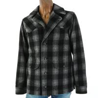 Miller Ranch Men's Western Wool Plaid Coat