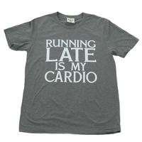 ATX Mafia Women's Running Late is My Cardio T-Shirt
