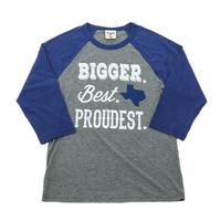 ATX Mafia Women's Bigger Best Proudest 3/4 Sleeve Shirt
