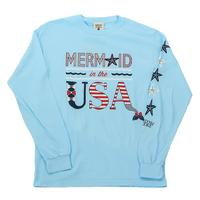 Jadelynn Brooke Mermaid in the USA Long Sleeve