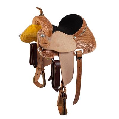 Cactus Saddlery Saguaro Barrel Saddle - 14.5