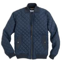 Southern Tide Quilted Bomber Jacket
