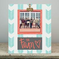 Glory Haus The Fam Wood Clip Frame