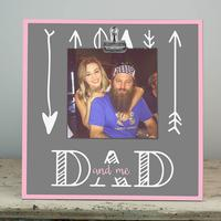 Glory Haus Dad and Me Wood Clip Frame