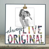 Glory Haus Always Live Original Wood Clip Frame