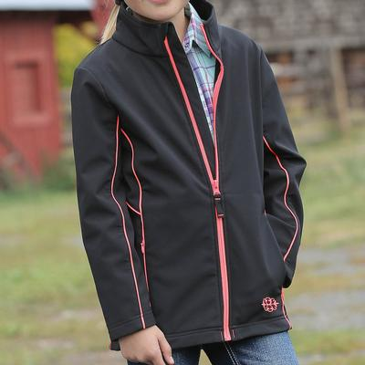 Cruel Girl Bonded Softshell Jacket BLK