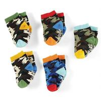 Mud Pie Colorful Camo Sock Set