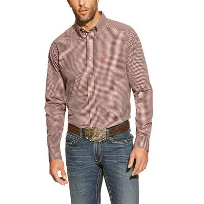 Ariat Brody Fitted Performance Shirt BLK