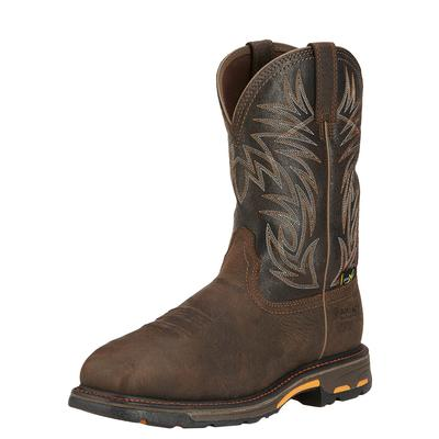 Ariat Workhog Square Tow H20 Metguard BRN