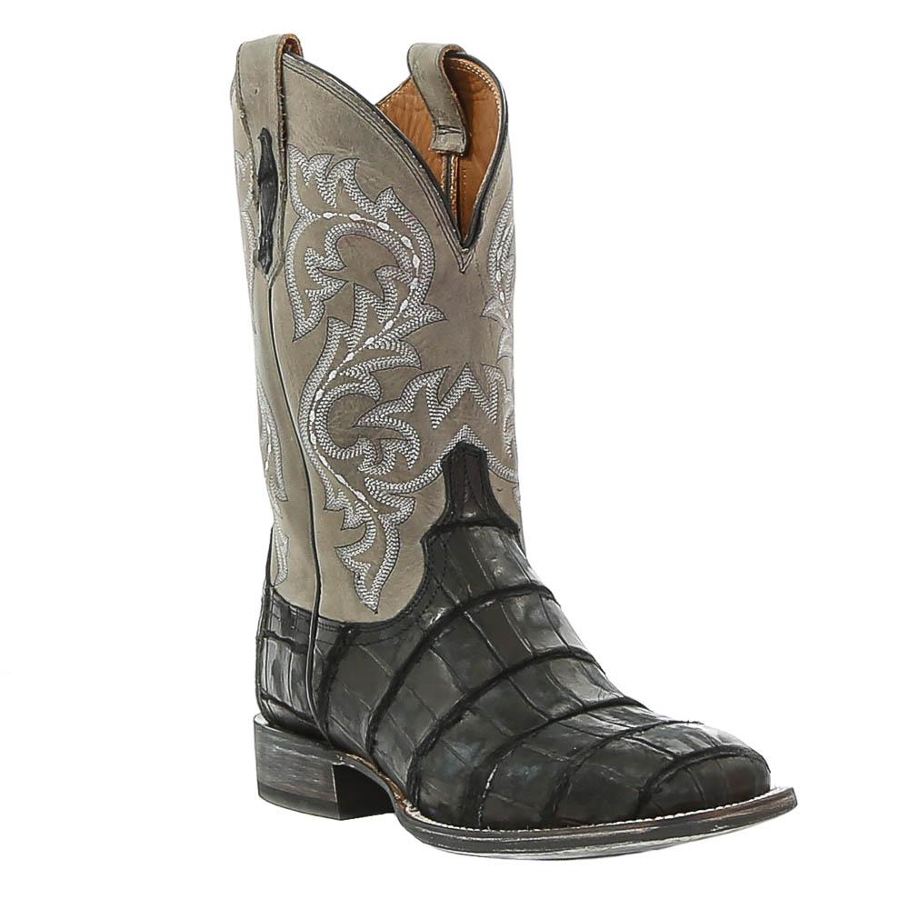 d d outfitters lucchese s malcolm boots in black