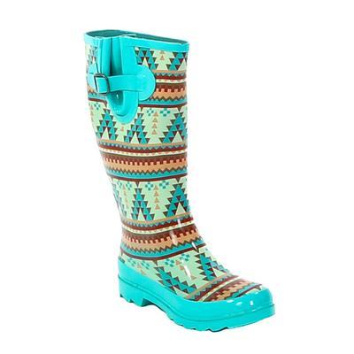 Blazin Roxx Dakota Aztec Rain Boot PRT