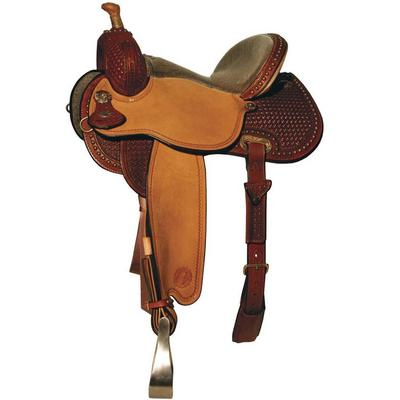 Circle Y Lisa Lockhart Contender Barrel Saddle 14.5