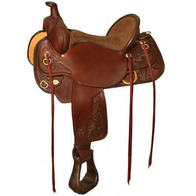 Circle Y Carlsbad Flex2 Trail Saddle - 17