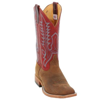 Anderson Bean Men's Red Fool's Boar Cowboy Boots