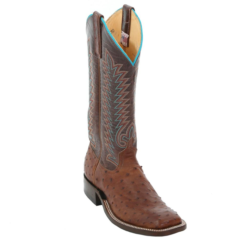 Anderson Bean Women S Chocolate Top Cowgirl Boots