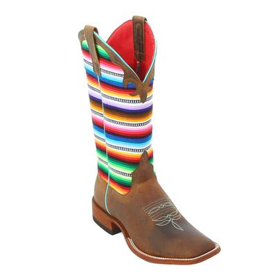 Macie Bean Lefty's Poncho Cowgirl Boots