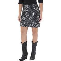 Black Mini Skirt by Wrangler