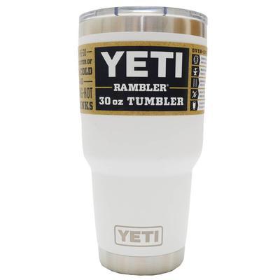 YETI Rambler, 30 oz. WHITE