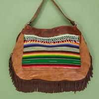 Large Serape Hobo Purse