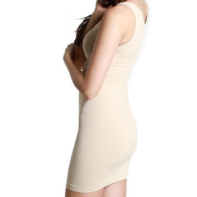 Scoop Neck Layering Dress by Nikibiki STONE