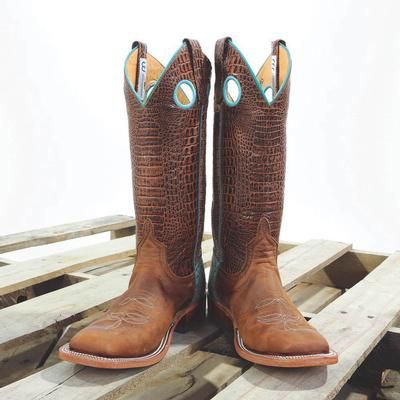 Anderson Bean Cocaiman Western Boots