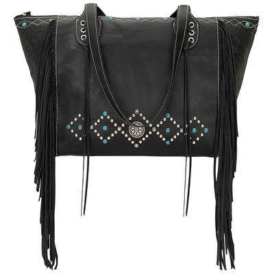 American West Zip Top Tote Bag