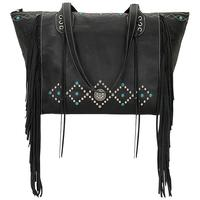 American West Zip Top Tote Bag