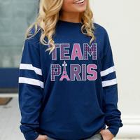 Jadelynn Brooke Team Paris Long Sleeve T-Shirt