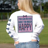 Jadelynn Brooke Never Have Too Much Happy T-Shirt