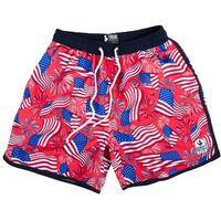 Rowdy Gentleman National Anthem Swim Trunks