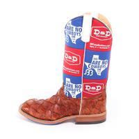 Anderson Bean Cognac Bass Koozie Boots