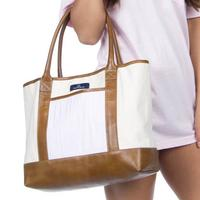 Lauren James Women's Seersucker Tote