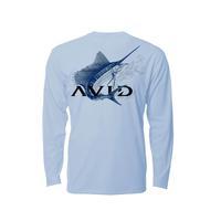 Avid Men's Ice Blue Full Sail T-Shirt