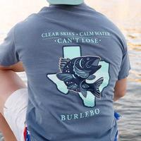 Burlebo Men's Clear Skies T-Shirt