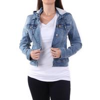Dear John Women's Hooded Denim Jacket
