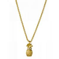 Spartina 449 Gold Pineapple Necklace