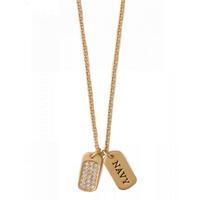 Spartina 449 Gold Navy Necklace