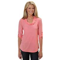 Roper Women's Cowl Neck Tunic