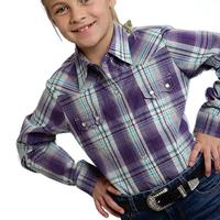 Roper Girl's Grapevine Snap Shirt