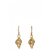 Spartina 449 Gold Shell Earrings