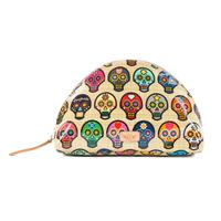 Consuela Sugar Skull Large Cosmetic Case