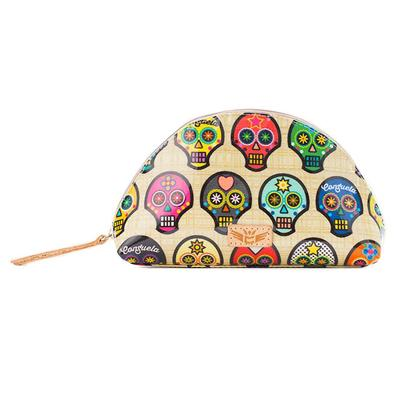 Consuela Sugar Skull Medium Cosmetic Case