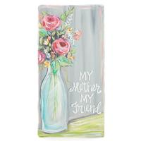 My Mother, My Friend Canvas