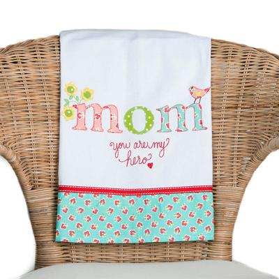 Mom, You Are My Hero Tea Towel