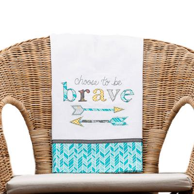 Be Brave Tea Towel